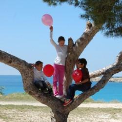 Ballon baudruche Welcome Family