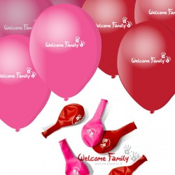 Ballons Welcome Family