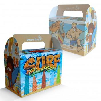 Boîte menu enfant Surf