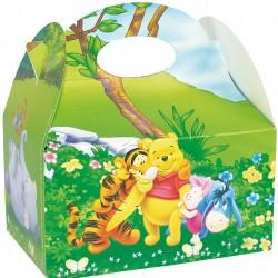 Boîte pour menu Enfant Winnie l'ourson