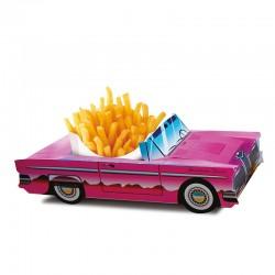 Boîtes pour menus enfants modèle Cadillac, panachés, Welcome Family