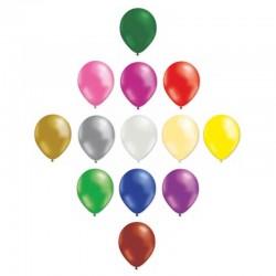 Ballons de baudruche couleurs panachées