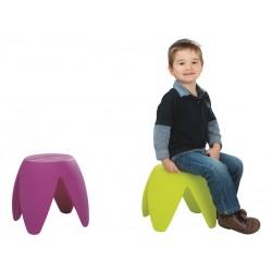 Tabouret pour enfant, mobilier enfant extérieur,espace enfant