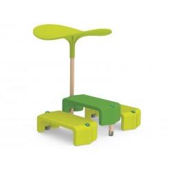 Table Séquoia, mobiler enfant extérieur pour hotel, table pour enfant