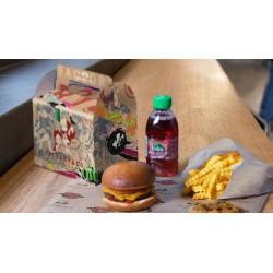 Boîte menu enfant personnalisée, pour restaurant, snack, fast food
