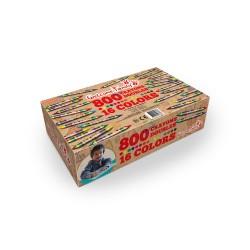 Pack de 800 crayons gras double têtes, crayons pour restaurant, crayons menu enfant
