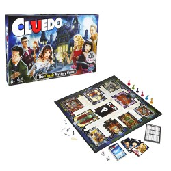 Le Cluedo version anglaise - jeu de société pour hôtel, camping, club de vacances, restaurant
