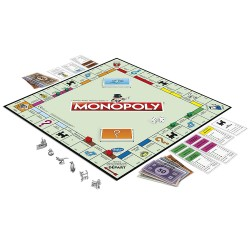 Monopoly - Jeu de société pour hôtel, camping, club de vacances, restaurant