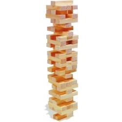 La tour bancale - Jeu en bois pour hôtel, camping, club de vacances, restaurant
