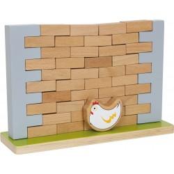 Le Mur bancal - Jeu en bois pour hôtel, camping, club de vacances, restaurant