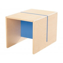 Ensemble Table + 2 chaises, mobilier enfant pour hôtel, restaurant, école