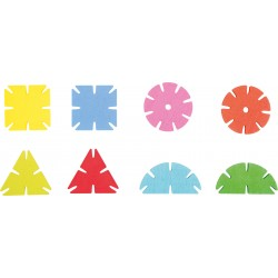 """Jeu d'assemblage """"forme géométrique"""" 240, cadeau d'accueil enfant pour les professionnels CHR"""