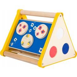 """Triangle de motricité """"Move it"""", jeu accueil enfant pour les professionnels CHR"""