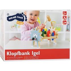 Banc à marteler Hérisson, jouet pour l'accueil des enfants dans les hôtels, restaurants