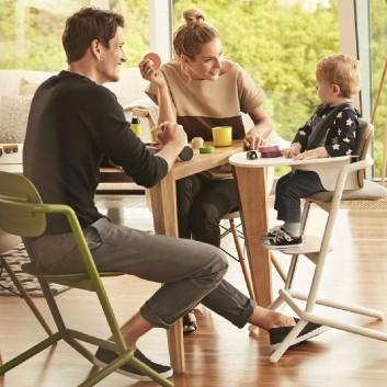 Chaise haute avec plateau - Equipement enfant pour hôtel, restaurant