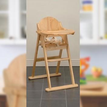 Chaise haute enfant pliable