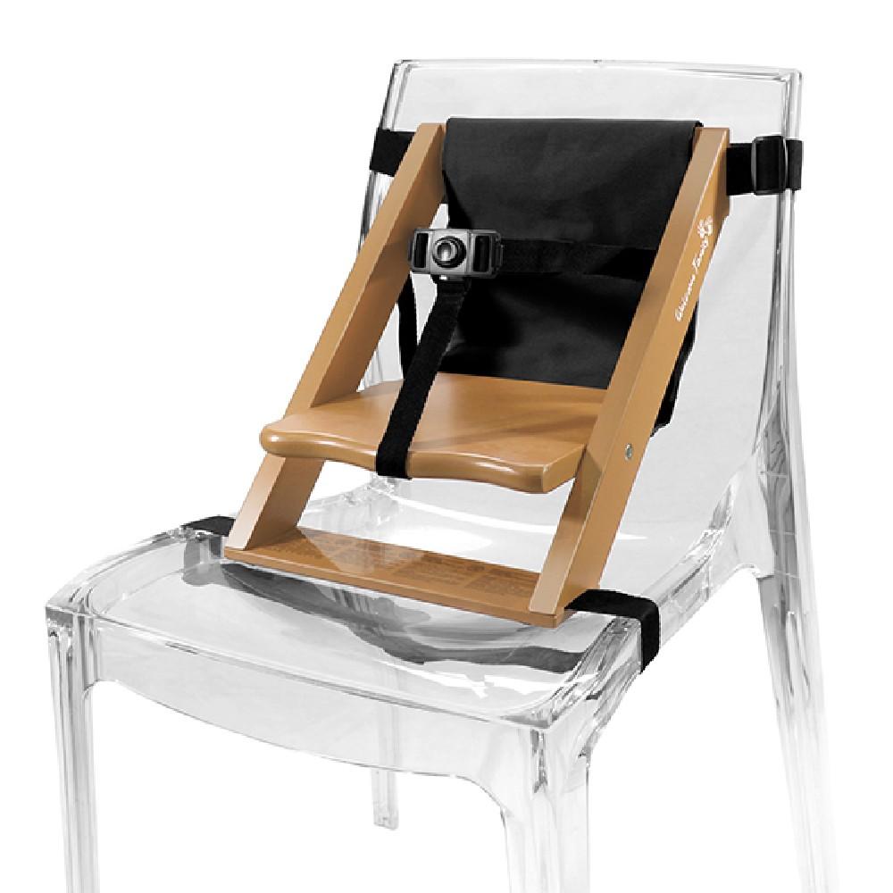 Childs Chair Riser Made Of Light Wood