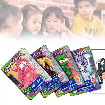 Carte Power, produit d'accueil enfant pour les professionnels CHR