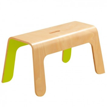 Banc en bois, mobilier enfant pour hôtel, restaurant