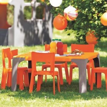 Maxi lot table d'activités rectangulaires (petite), équipement enfant pour les professionnels CHR