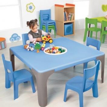 Maxi lot table d'activités rectangulaires (moyen), équipement enfant