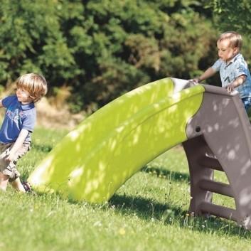 Tobogan pliable, mobilier enfant, equipement espace de jeux