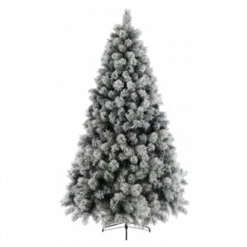 Sapin enneigé blanc - Equipement d'accueil de Noël pour les hôtels, restaurants