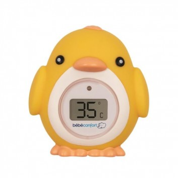 Bird electronic bath thermometer, child bath accessory for hotels