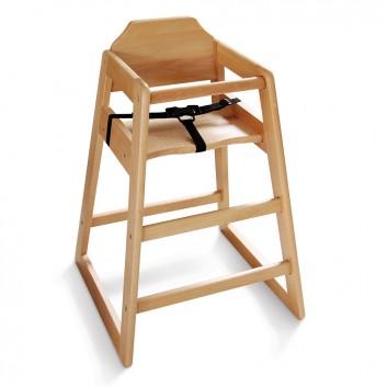 Chaise haute enfant pour restaurant, hôtels, campings, collectivités, cafétéria