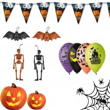 Kit de décoration d'Halloween pour les hôtels, restaurants