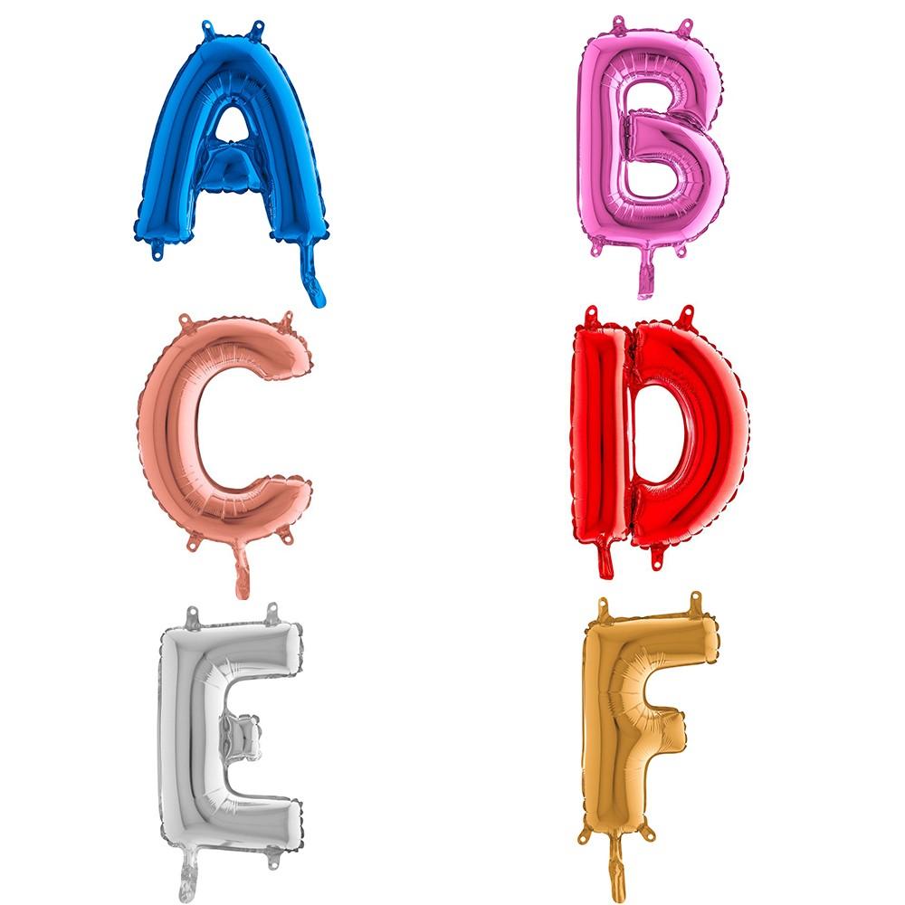Ballons aluminiums lettres pour les CHR
