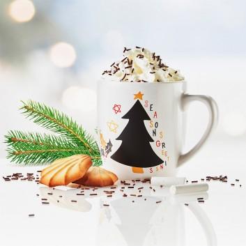 Mug Ardoise, produit d'accueil enfant pour Noël