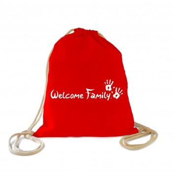 Sac enfant Welcome Family, produit d'accueil pour les hôtels, restaurants