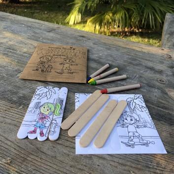 Coloring Puzzle, le jeu 2 en 1 pour les enfants dans les hôtels, restaurants