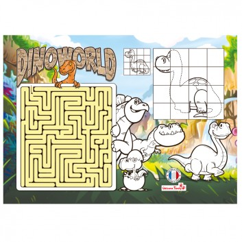 Set de table Dinoworld