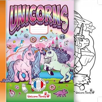 cahier de coloriage licorne cahiers de coloriage