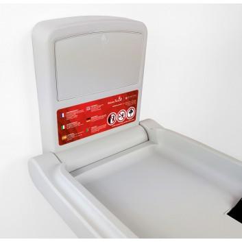 Table à langer professionnelle verticale pour les hôtels, restaurants