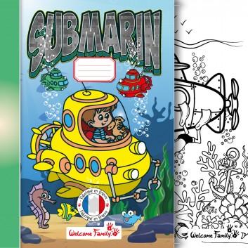 Cahier de coloriage Monde Marin