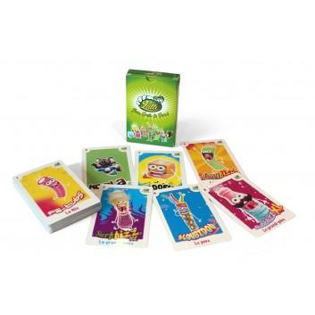 Jeu de 7 familles personnalisés pour la marque de bonbons Lutti