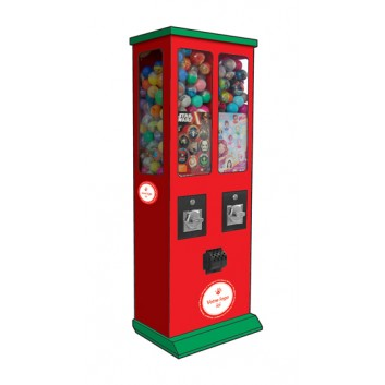 Distributeurs de capsules personnalisés pour Auchan Drive