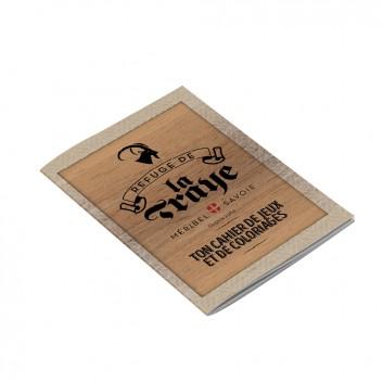 Exemple de cahiers personnalisé à l'image d'un établissement de restauration pour offrir aux enfants