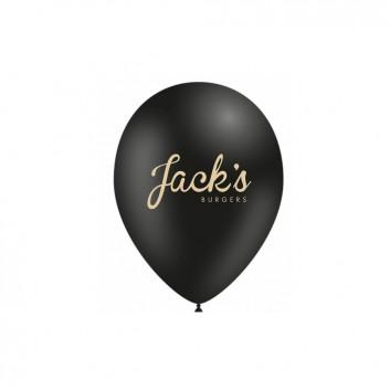 Ballons personnalisés pour restaurant Jacks burger