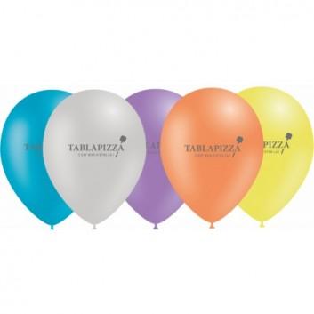 Ballons de baudruche personnalisés, pour enfant tablapizza