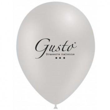 Ballons de baudruche personnalisés pour restaurant brasserie gusto