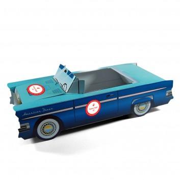 Caja de menú infantil personalizable Cadillac