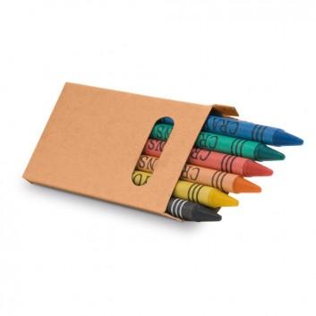 Boîte de 6 crayons cire pour les professionnels CHR