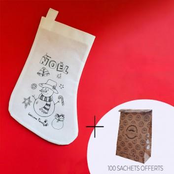 Pacote do menu de Natal infantil para entrega: meias e...
