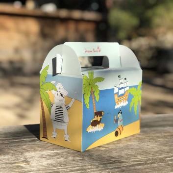 lunchbox modèle pirate pour les enfants