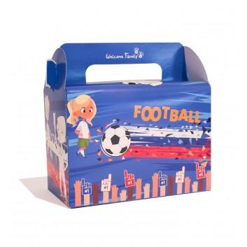 boite pour menu enfant pour les joueurs de foot