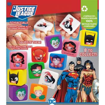 mini coussin justice league